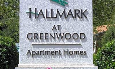Community Signage, Hallmark at Greenwood, 0