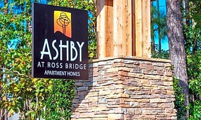 Community Signage, Ashby at Ross Bridge, 0