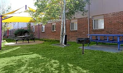 Recreation Area, Crestone Apartments, 1