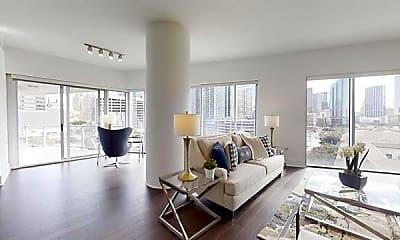 Living Room, 2501 N Houston St 2208, 0