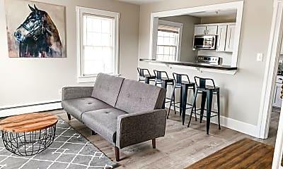 Living Room, 105 N Miles St, 1