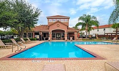 Pool, Cienega-Linda Apartments, 0