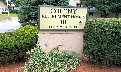 Colony III Congregate Housing, 1
