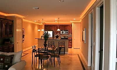 Dining Room, Southern Empress Lakeside Condominiums, 2