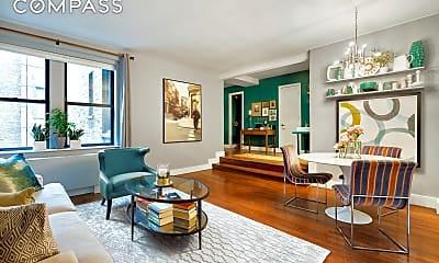 Living Room, 245 W 25th St 4-L, 1