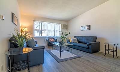 Living Room, Serrano Apartment Homes, 0
