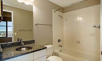 Bathroom, Plaza Towers Apartments, 2