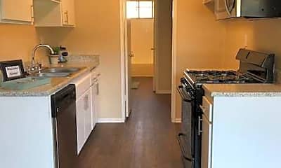 Kitchen, La Paz Apartments, 1