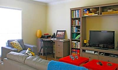 Living Room, Grand Oaks Apartments, 1