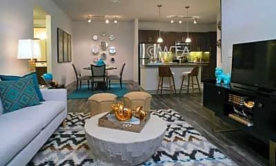 Living Room, 14614 Vance Jackson, 2