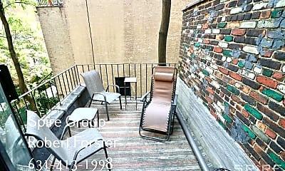 Patio / Deck, 284 West End Ave 2B, 2