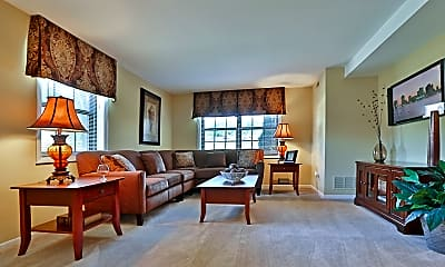 Living Room, Chapel Valley Townhomes, 0