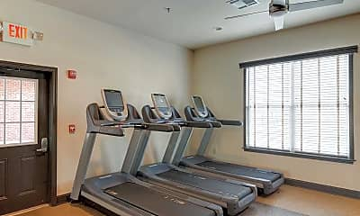 Fitness Weight Room, The Grove at Statesboro, 2