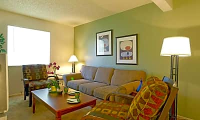 Living Room, Vintage Faire Apartments, 0