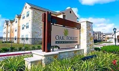 Building, Oak Forest Apartments, 0