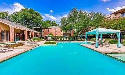 Pool, Oaks of North Dallas Apartments, 0