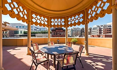 Patio / Deck, 777 7th St NW 826, 2