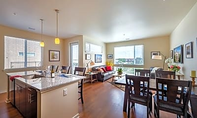 Dining Room, 16 Penn Apartments, 1