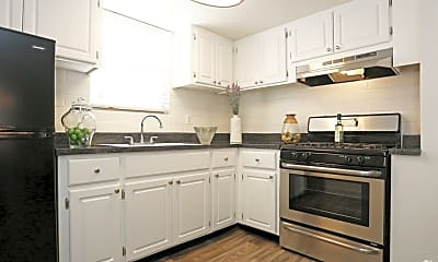 Kitchen, Seventh Apartments, 0