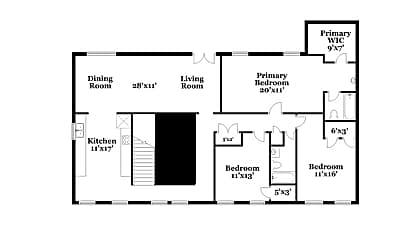 Building, 6935 Smoke Ridge Dr, 1