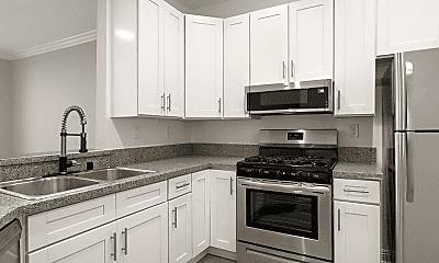 Kitchen, Clarington Court Apartments, 1
