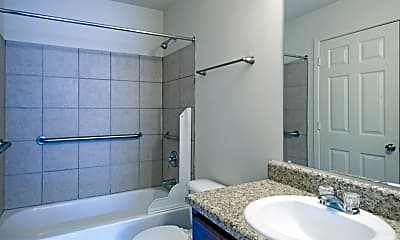 Bathroom, Lake Forest Apartments, 2