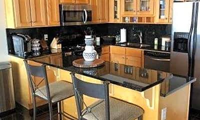 Kitchen, 2222 Detroit Ave 905, 1