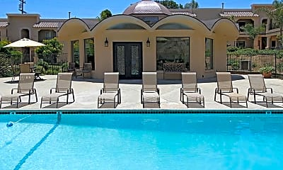 Pool, Loma Village Apartments, 0