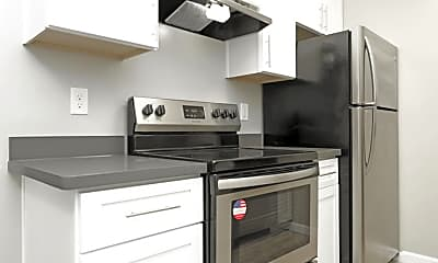 Kitchen, The Heights Apartments, 0