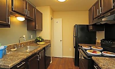 Kitchen, Twin Oaks Apartments, 0