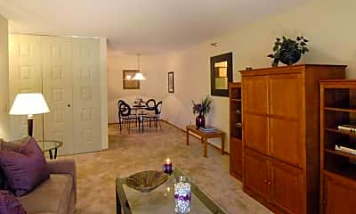 Living Room, Brier Creek Apartments, 0
