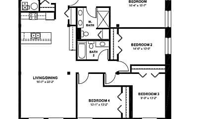 Building, 2315 W Huron St, 1