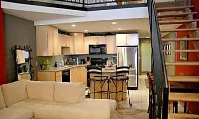 Living Room, JI Case Lofts, 1