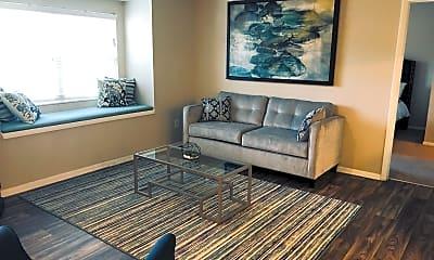 Living Room, Arbor Ridge on West Friendly, 0