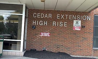 Cedar Ext High Rise, 1