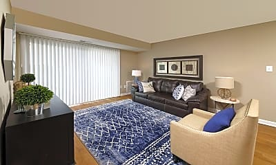 Living Room, Center Pointe Apartments, 1