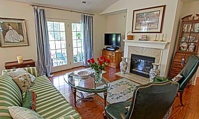 Living Room, Saratoga Renaissance, 1