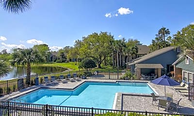 Pool, Pierpoint Apartments, 0