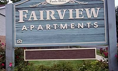 Community Signage, Fairview I&II, 1