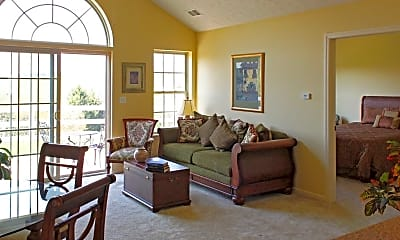 Living Room, Summit Ridge, 1