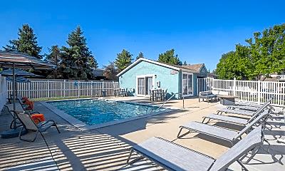 Pool, Edgewood Park Apartments, 2