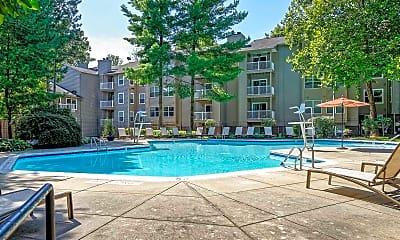 Pool, Hunt Club Apartments, 0