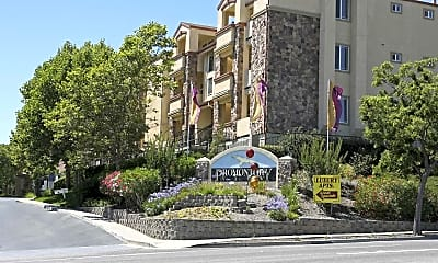 Building, Promontory View Apartments, 0
