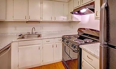Kitchen, The Harrison Apartments, 0