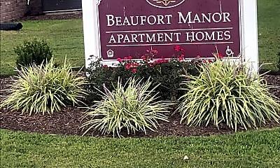 Beaufort Manor Apartments, 1