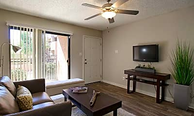 Living Room, Copper Palms, 1