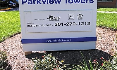Parkview Towers Apartment, 1