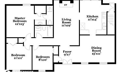 Building, 8614 Sardis Way, 1