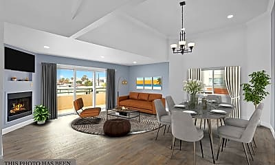 Living Room, 1527  9th Street. #301, 0