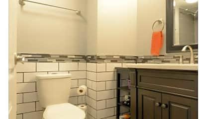 Bathroom, 1020 15th St, Apt 33E, 1
